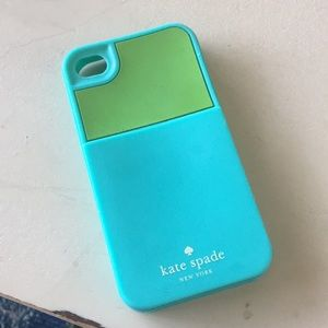 Kate Spade iPhone 4/4S Silicone Scarf Holder Case
